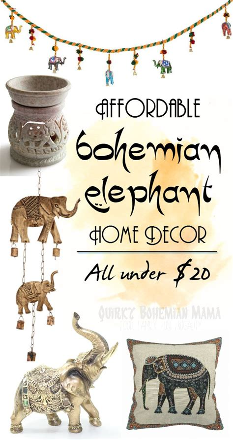 Cheap Bohemian Home Decor by Best 25 Elephant Home Decor Ideas On Ceramic