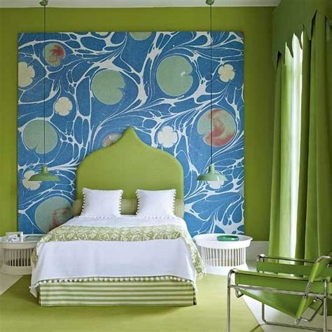 Bright Green Bedroom by 69 Colorful Bedroom Design Ideas Digsdigs