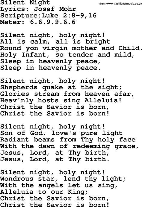 silent lyrics will hymns silent lyrics sheetmusic midi