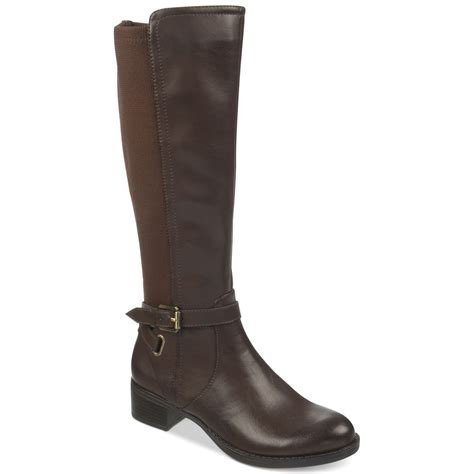 franco sarto country stretch back boots in