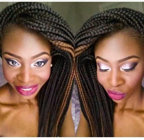 how to braid a swoop in the front braids with swoop purple braids styles 35 gorgeous