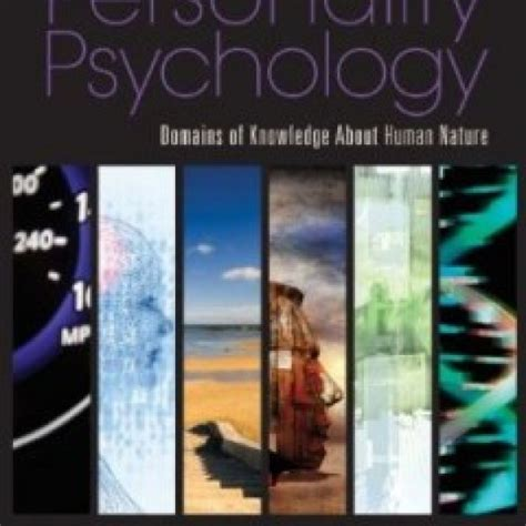 test bank  personality psychology domains  knowledge