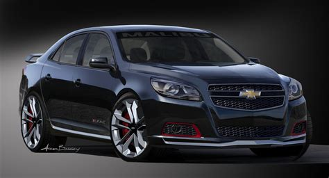 sema 2012 the 2013 chevy malibu turbo performance concept