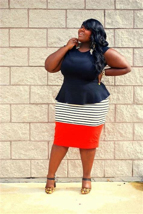 be a stylish professional in plus size