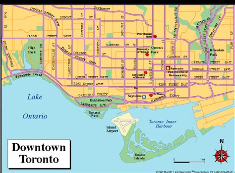 map directions toronto 100 map of toronto detailed political and