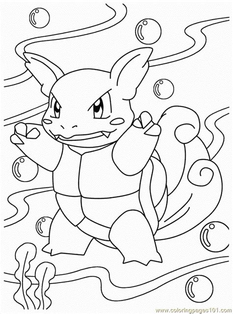 coloring pages water pokemon cartoons gt water pokemon