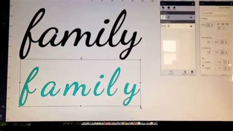 Wedding Font Openoffice by Get Great Results Using System Fonts With Cricut Explore