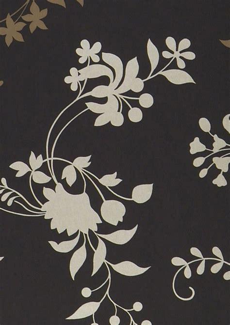 Minerva Black wallpaper minerva black pale brown gold lustre