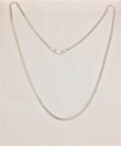 cadena en plata para hombre colombia cadena chinesca hombre en plata 925 159 900 en mercado