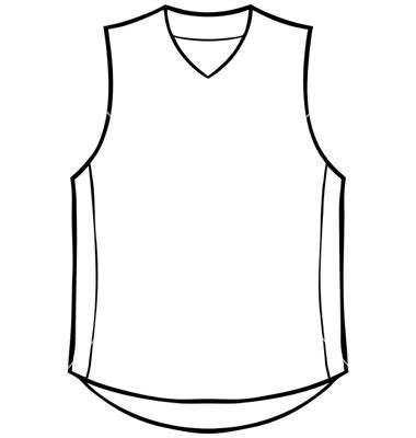 basketball uniform coloring page blank basketball jersey template cliparts co