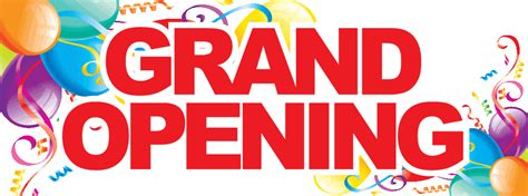 3 New Opening On Weekend by Grand Opening Weekend May 29 31 2015 Nostalgic Bazaar