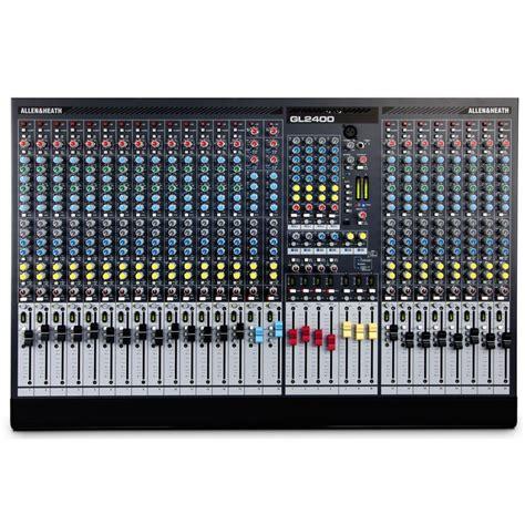 Mixer Allen Heath Gl2400 40 Channel allen heath gl2400 40 40 channel live sound mixer