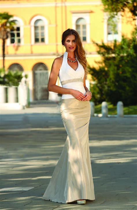 bruidsmeiden jurk met jasje gekleurde trouwjurk bruidsjurken in je favoriete kleur