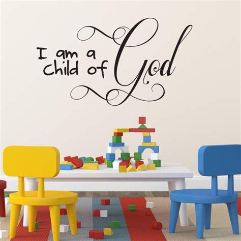 christian wall stickers children s room christian wall wall sticker i am a