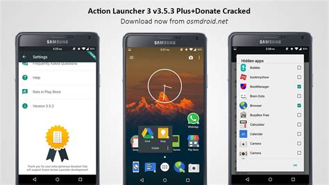 launcher apk free launcher 3 apk 3 5 3 plus donate cracked mod apk