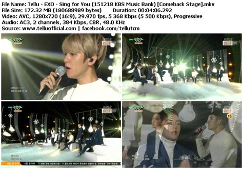 exo unfair mp3 download wapka download perf exo sing for you unfair kbs music