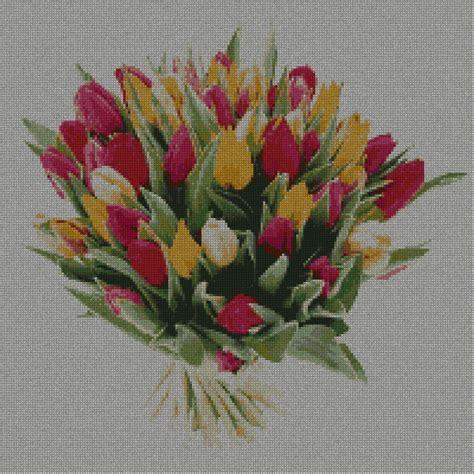 fiori acquatici nomi tulipano tulipani 5s schema punto croce gratuito da stare