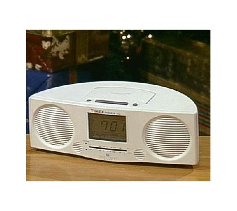 timex indiglo am fm stereo nature sounds alarm clock w qvc