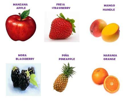 imagenes en ingles frutas 10 frutas en ingl 233 s imagui