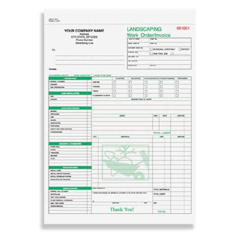 Landscape Work Order Forms Lwocc 794 Landscaping Work Order