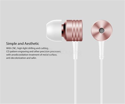 Xiaomi Earphone 1 More Piston Fit Original J394 T0210 original xiaomi 1more piston classic in ear wired