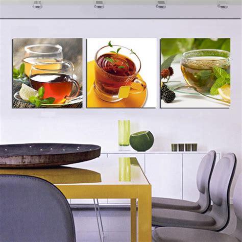 cheap home wall decor cheap kitchen 3 canvas wall modern coffee