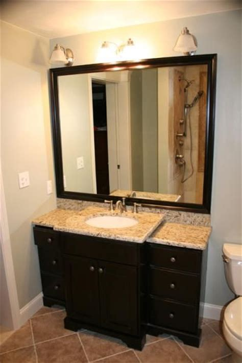 bathroom remodel remove cabinet  stand  sink