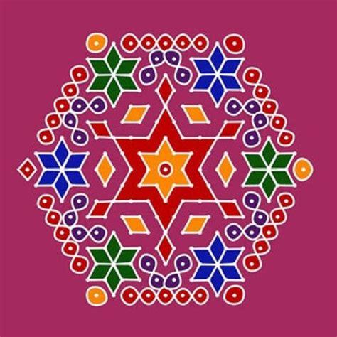 dot pattern rangoli rangoli designs dots and design on pinterest