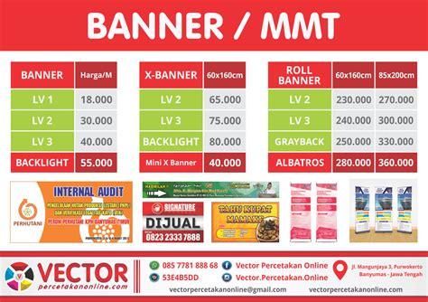 Cetak Spanduk Banner Murah 1 banner spanduk baliho vector percetakan purwokerto
