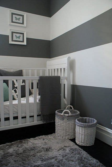 baby moths in bedroom grey and white striped walls for the baby s room with