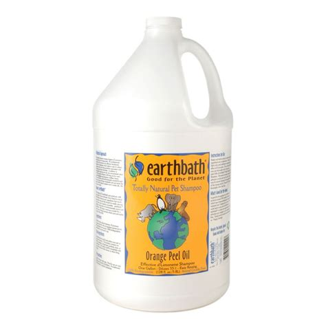 earthbath puppy shoo earthbath orange peel concentrated shoo 1 gallon totally pet care