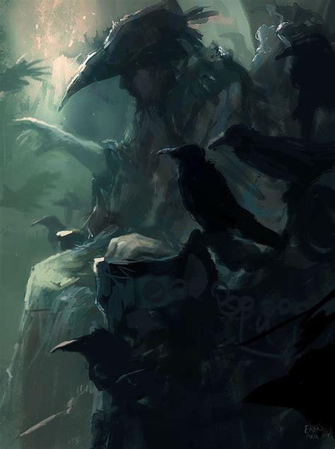 the raven king the raven king speedpainting by erenarik on