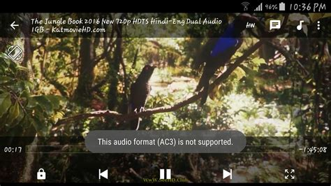 audio format is not supported mx player this audio format ac3 not supported in mx player