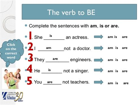 work level1 unit1 verb to be