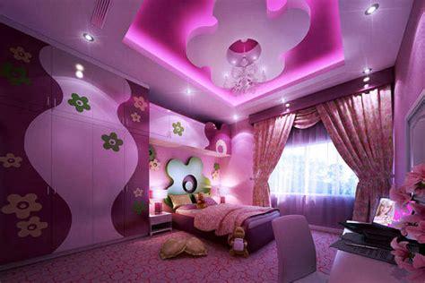 Pink And Purple Bedroom Ideas Purple Teenage Girls Bedroom Design With Big Cupboard And