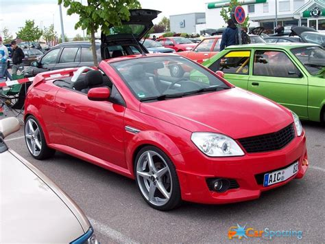 opel tigra tuning opel tigra twin top technical details history photos on