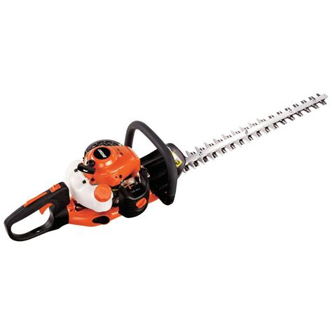 echo 24 in 21 2 cc gas hedge trimmer hc 165 the home depot