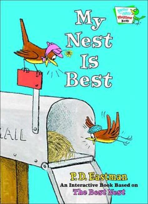 nest books my nest is best by p d eastman 9780375832673