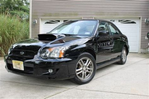 subaru hybrid sedan buy used 2005 subaru impreza wrx sti built hybrid sedan in