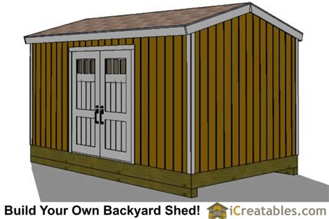 10x16 Shed Plans Free by 10x16 Gable Shed Plans With Taller Walls
