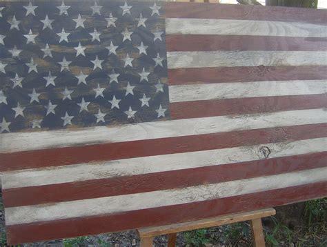 American Flag Wall Decor by Distressed American Flag Wall Decor 24 X