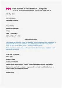 Side Artist Agreement Template the very best balloon blog contracts or service