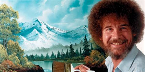 bob ross painting twitch twitch creative showing bob ross of painting