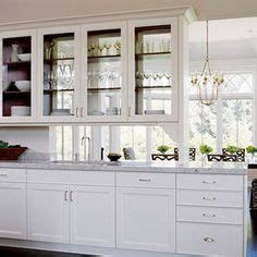 double sided glass kitchen cabinets glass kitchen cabinets see through here s another view