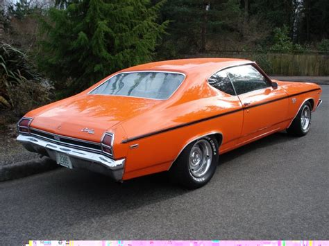 Chevrolet Chevelle 1969 Ss Atomic Rims Orange 90056o 1969 chevrolet chevelle ss 396 coupe 49210