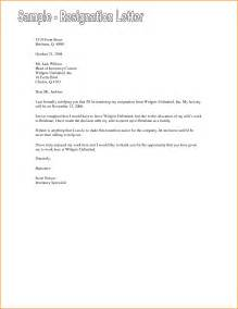 Resignation Form Letter Template by 7 Friendly Resignation Letter Template Invoice Template
