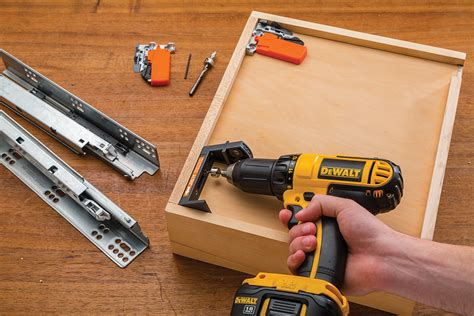 Undermount Drawer Slide Installation by Undermount Drilling Guide Adds To Rockler S Industry