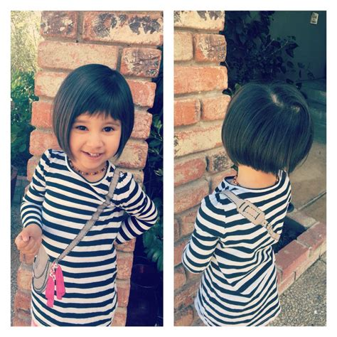 bob haircuts for 5 year old tabers 17 meilleures id 233 es 224 propos de toddler bob haircut sur