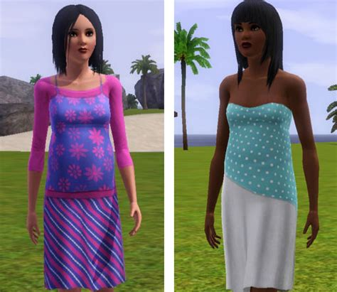 sims 3 teen pregnancy clothes my sims 3 blog maternity clothing for teen adult