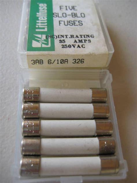 10 ceramic fuse 326 5x littelfuse fuse 326 1 4 1 2 6 10 3 4 1 1 1 2 2 or 2 1 2